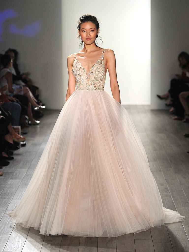 28 Gorgeous Blush And Light Pink Wedding Dresses Theknot