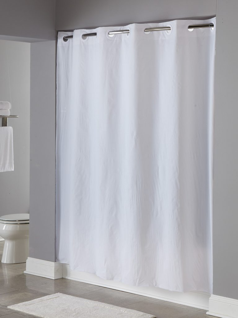 Hookless Shower Curtain In Pin Dot Focus Products Group In 2020