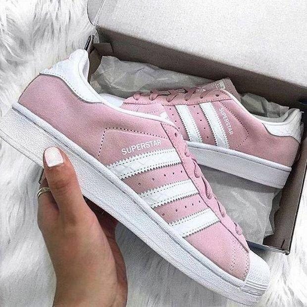 adidas superstar rose pale | Mode