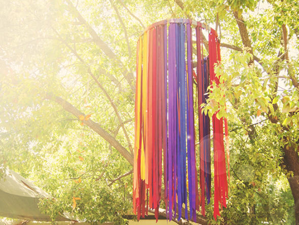 Blowing In The Wind {Ribbon Decor} | Engaged & Inspired