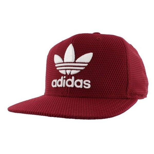 a5531e36c93 Men s Adidas Originals  Trefoil Plus  Snapback Cap ( 26) ❤ liked on  Polyvore featuring men s fashion