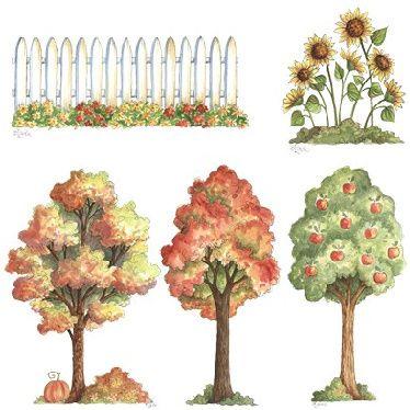 Decorativos country diversos -