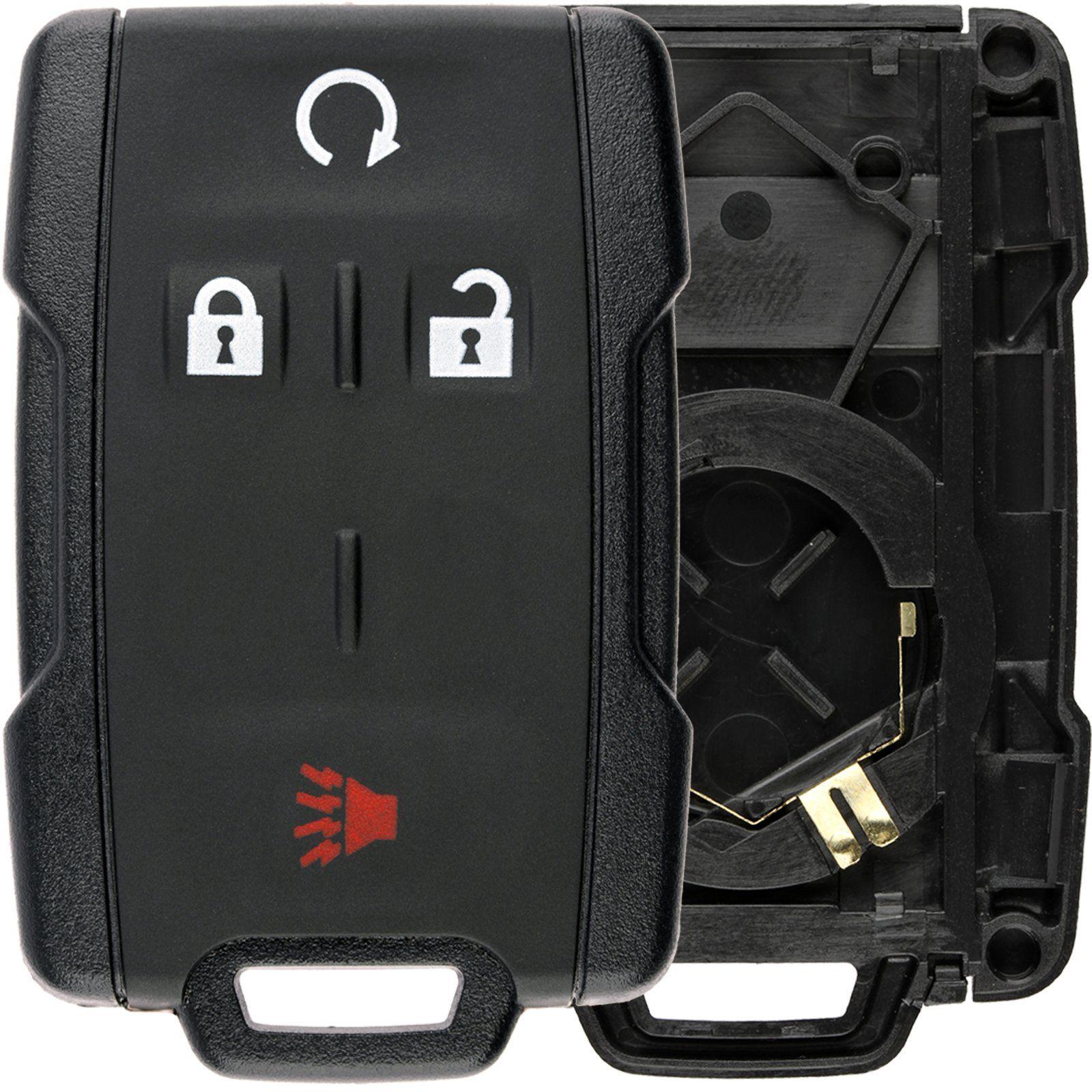 Keylessoption Keyless Entry Remote Control Car Key Fob Case Shell