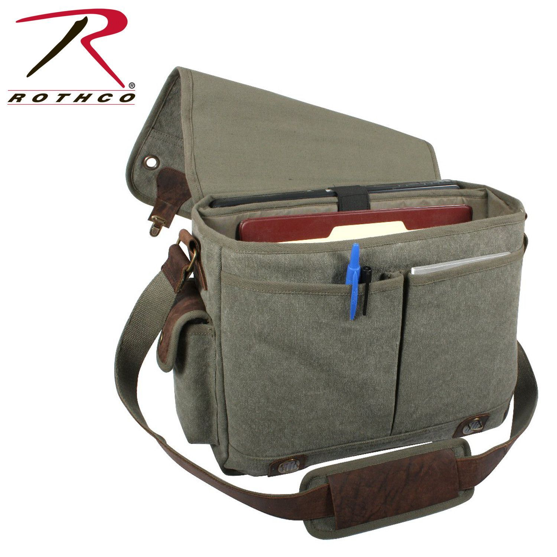 Rothco Canvas Trailblazer Laptop Bag