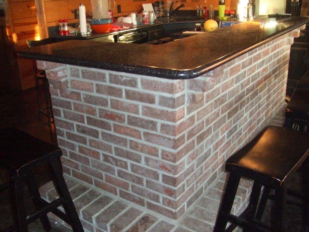 Brick Bar Basement Ideas In 2019 Bar Bar Areas Bar