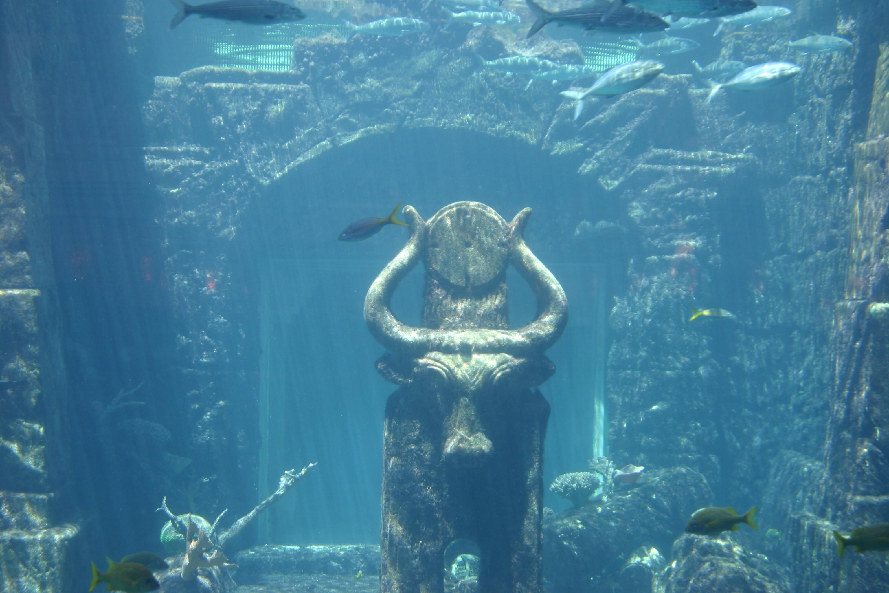 Lost Cities Found Underwater With Images Underwater Sculpture Lost City Of Atlantis Underwater City