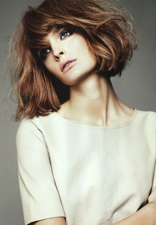 Chic Short Hairstyles For Thick Hair