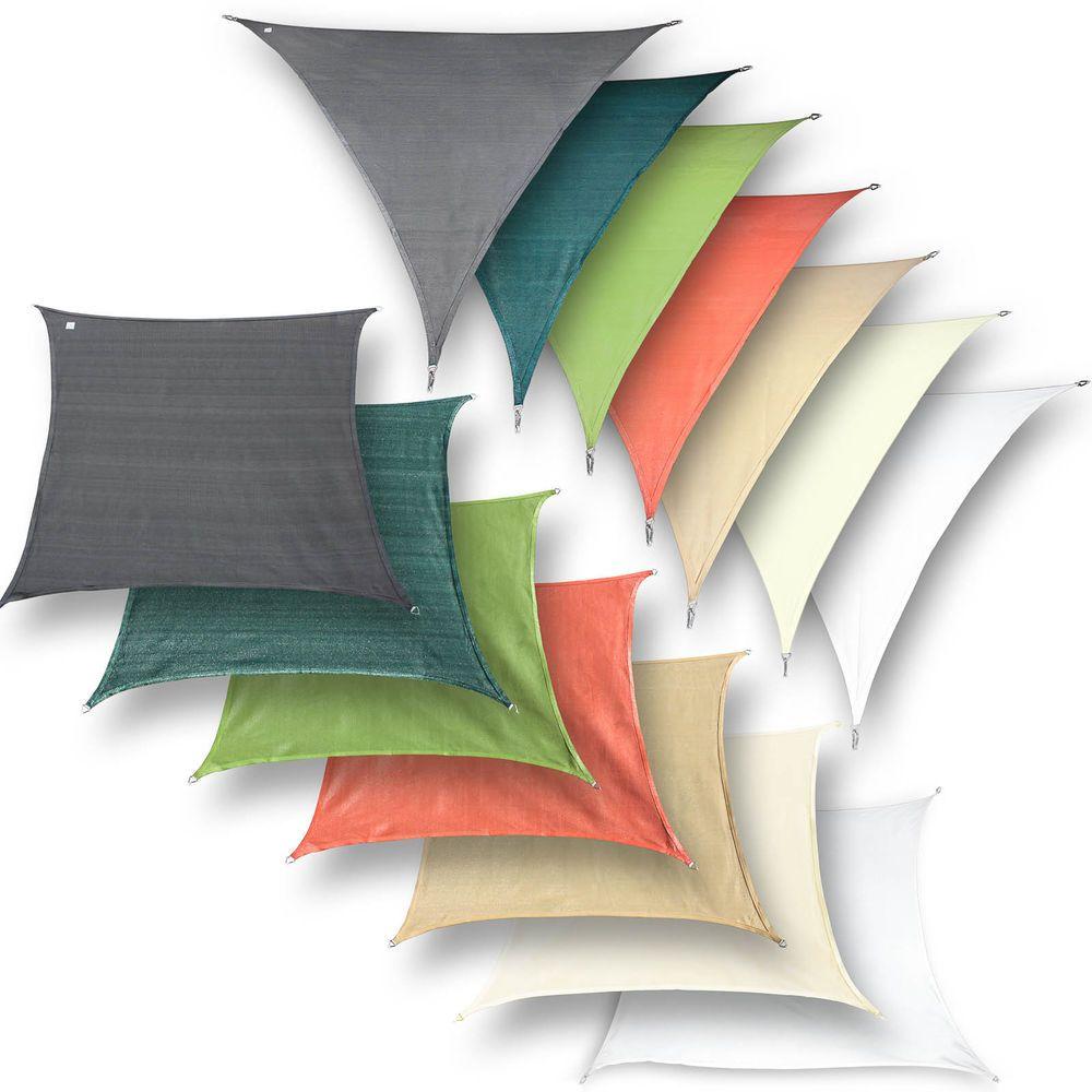 Details zu hanSe® Marken Sonnensegel riesige Auswahl an Farben und ...