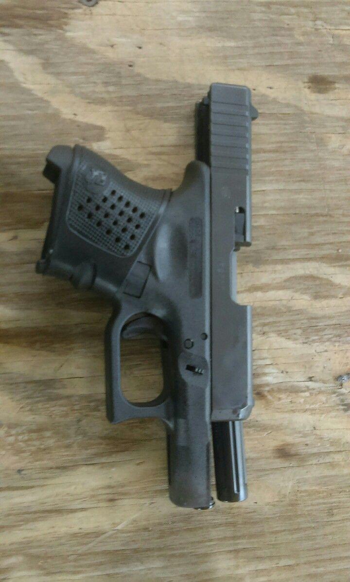 Glock 27 with AlphaWolf 9mm conversion barrel | Glock 27