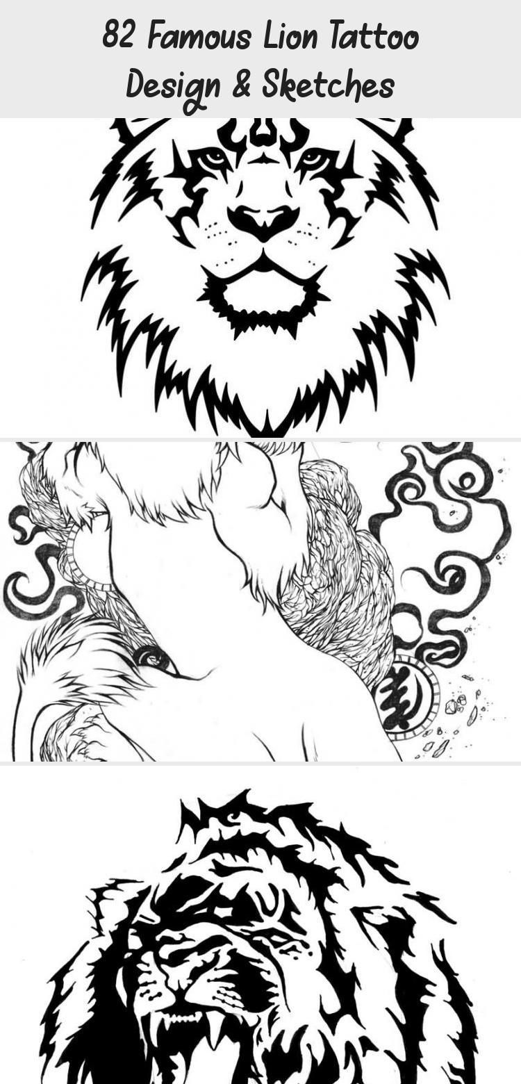 17 Berühmte Lion Tattoo Design & Sketches - Beste Tattoos - Löwe