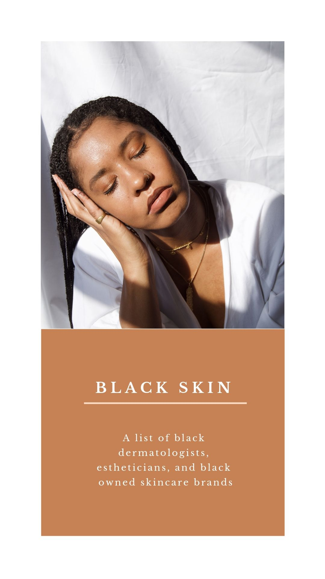 Black Owned Skincare brands, estheticians, and