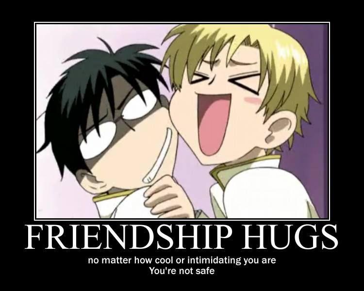 hahaha, Suoh and Kyouya...