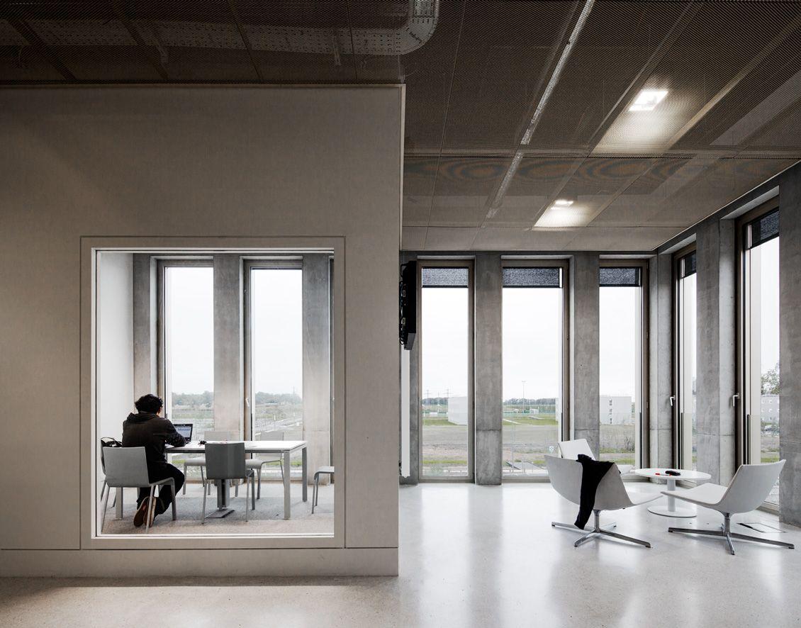 David chipperfield architects u hec paris mba building