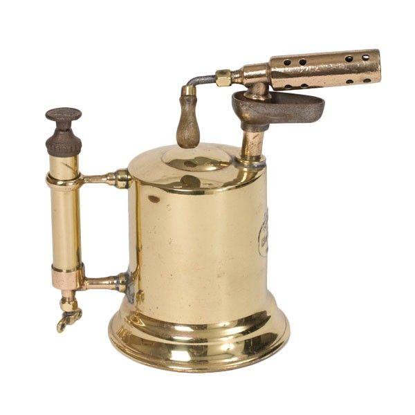 Vintage otto bernz brass blow torch pinterest