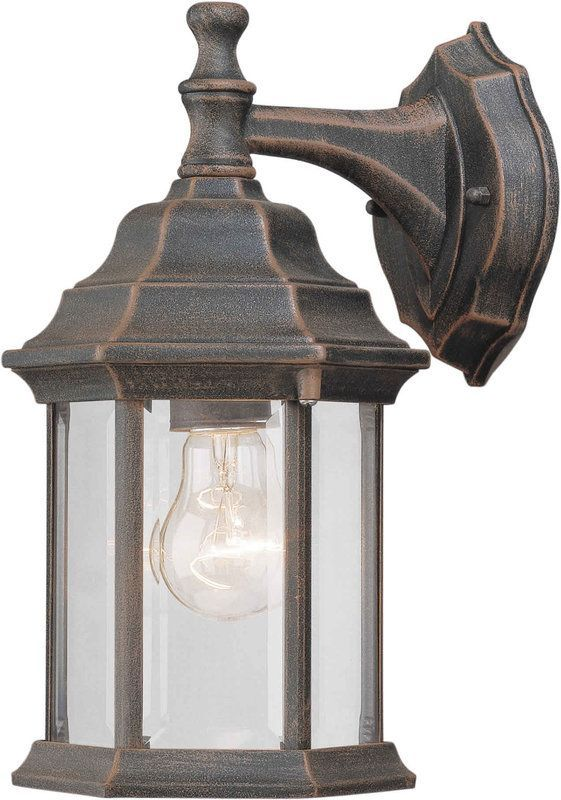 Forte Lighting 1715 01 Outdoor Wall Sconce From The Exterior Collection