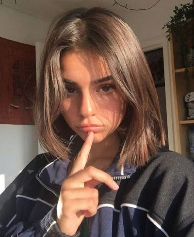 Beautyblog Vibe In 2019 Pinterest Hair Hair Styles And Short Hair Styles Aesthetic Hair Hair Styles Short Hair Styles