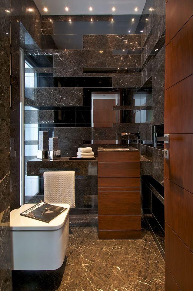 Western Style Bathroom Interior Design Bungalow Western
