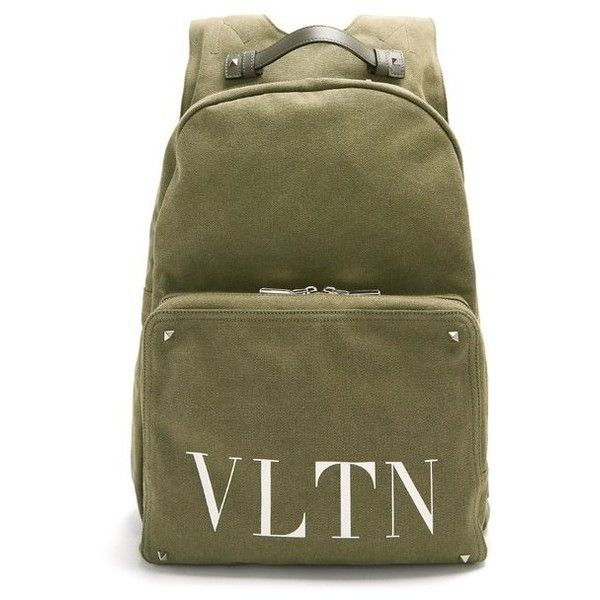 54cccc74c53 Valentino VLTN-print canvas backpack (43