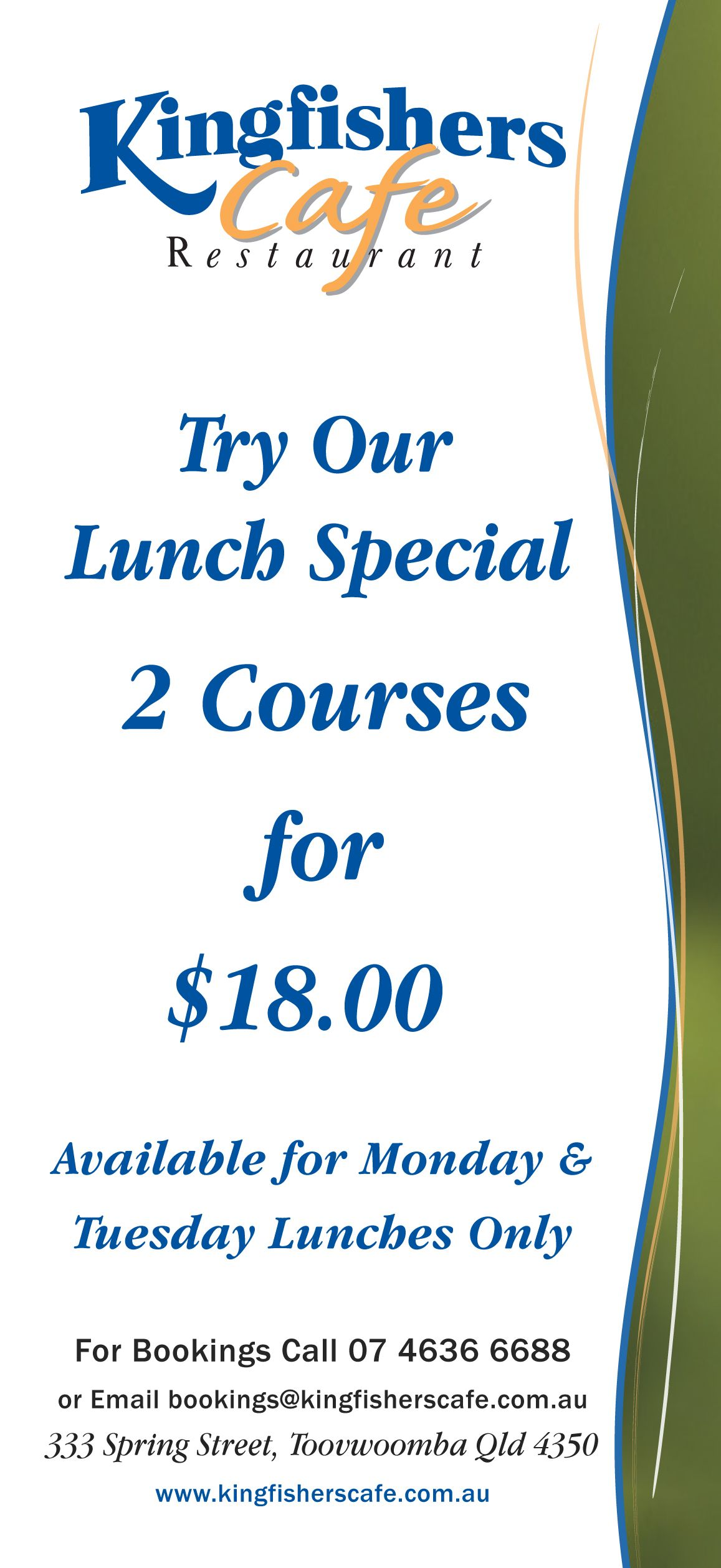 Lunch special lunch specials cafe menu lunch