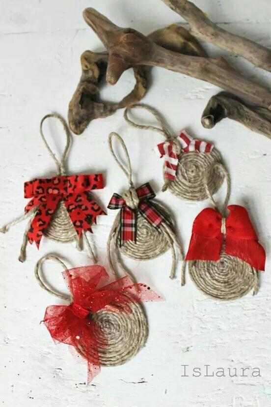 Xmas ornaments Manualidades Pinterest Navidad, Adornos y