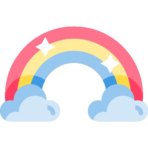 Rainbow Free Vector Icons Designed By Freepik Vector Free Vector Icon Design Free Icons