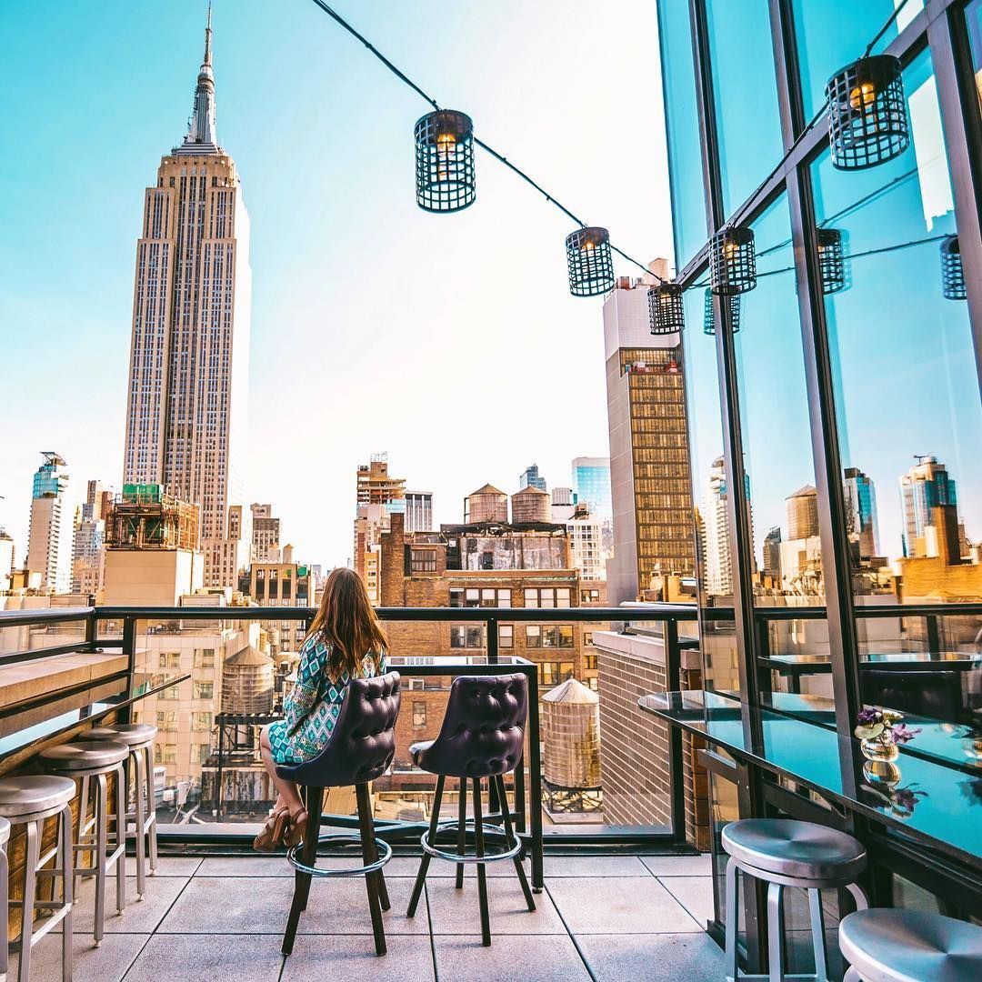 The 14 Best Nyc Rooftop Bars With A Skyline View Ready Set Jet Set Nyc Rooftop New York Rooftop New York City Travel