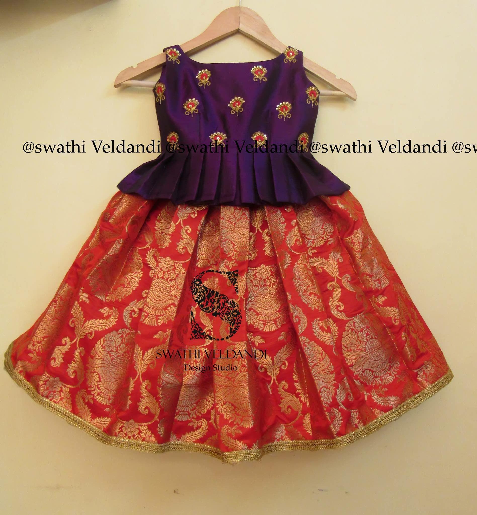 Pin By Uma Edupuganti On Baby Fashion Kids Blouse Designs Kids Frocks Design Kids Designer Dresses