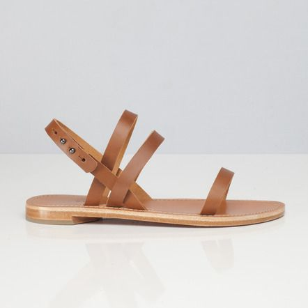 The Women's Summer Sandal in Cognac