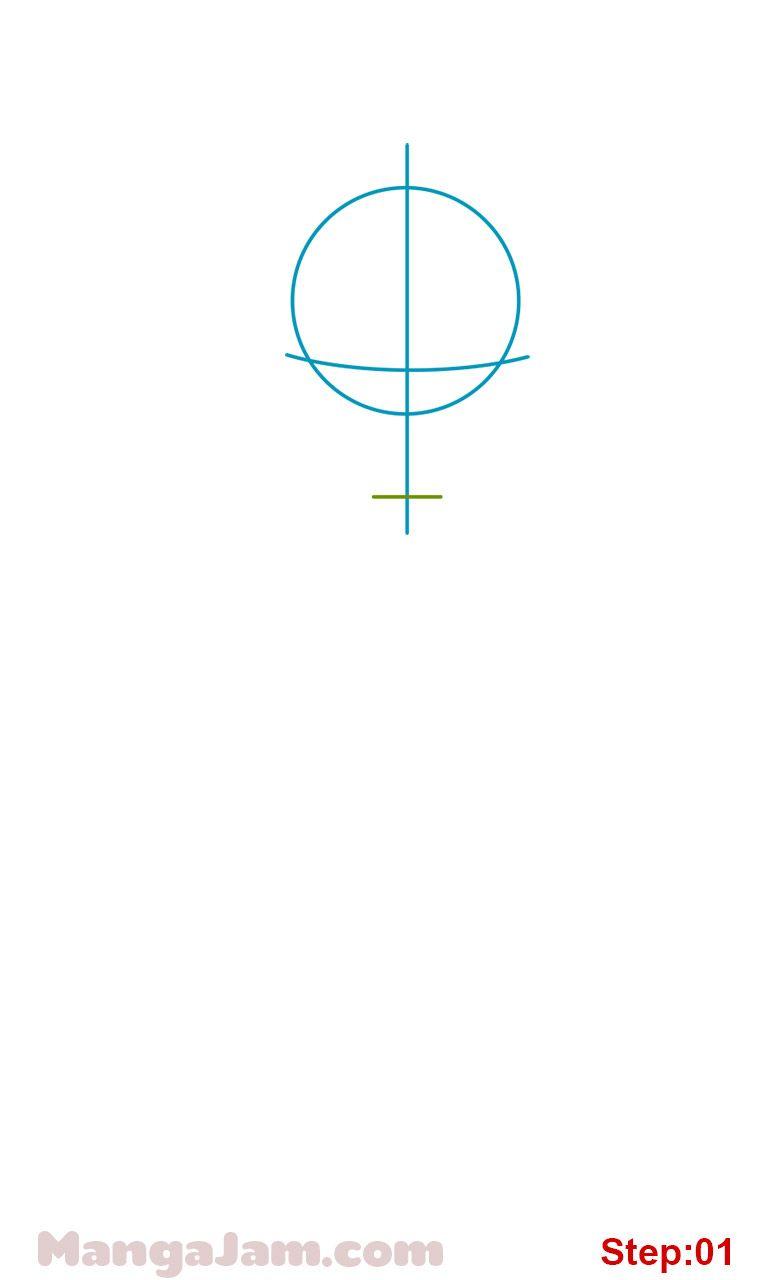 How to Draw Kuroo Tetsuro from Haikyuu - MANGAJAM.com
