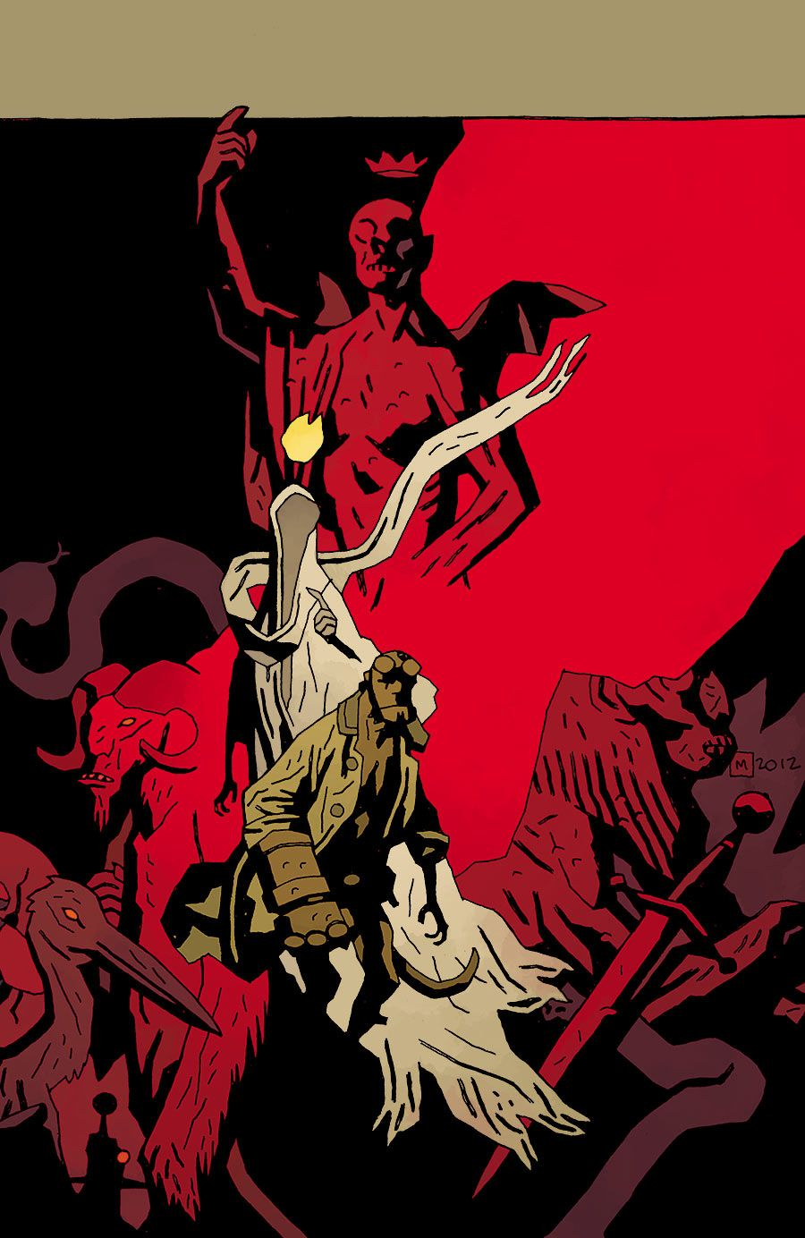 Hellboy In Hell 2 | Mike Mignola art | Pinterest