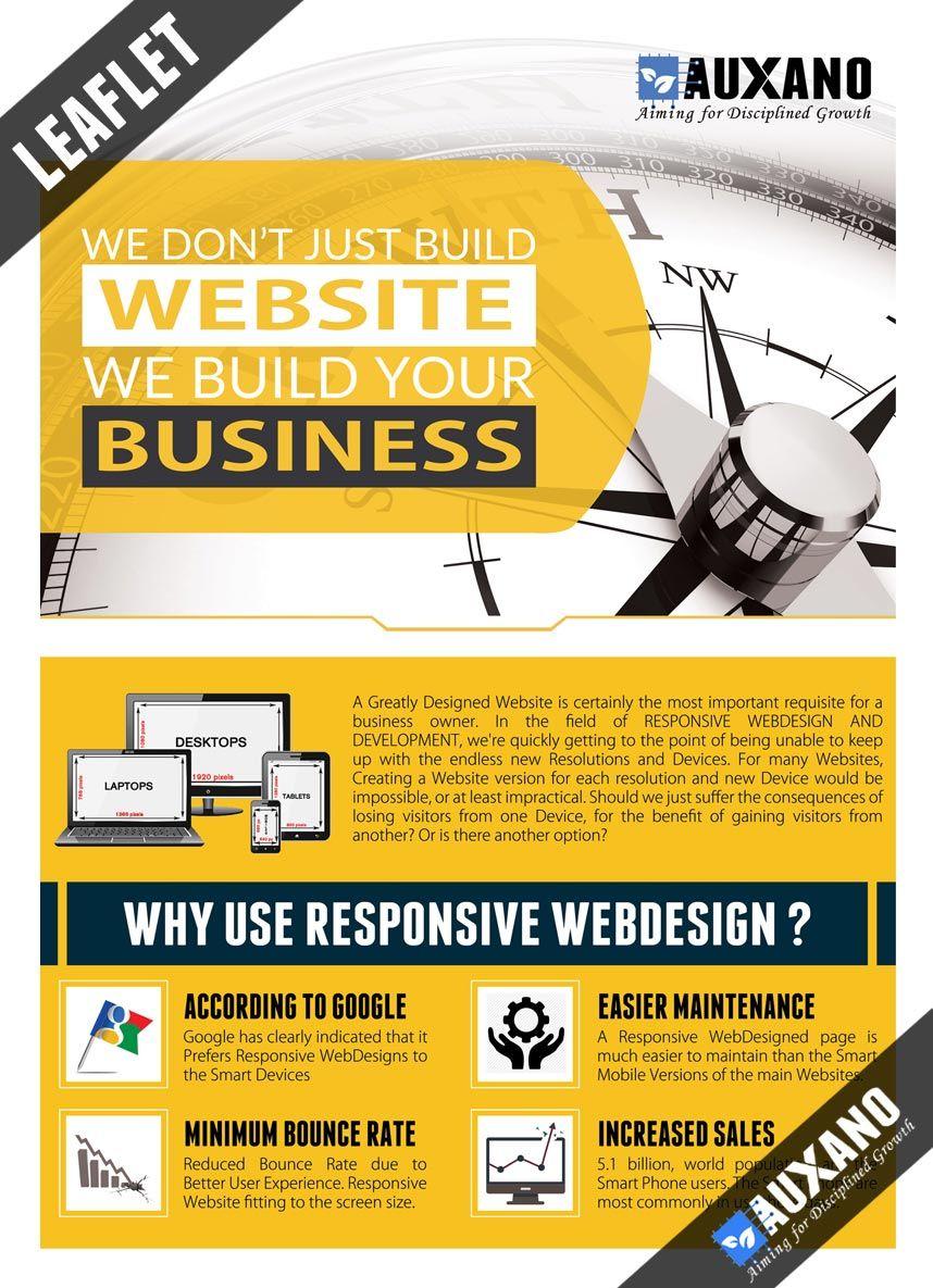 custom leaflet design services for exhibitions online leaflets