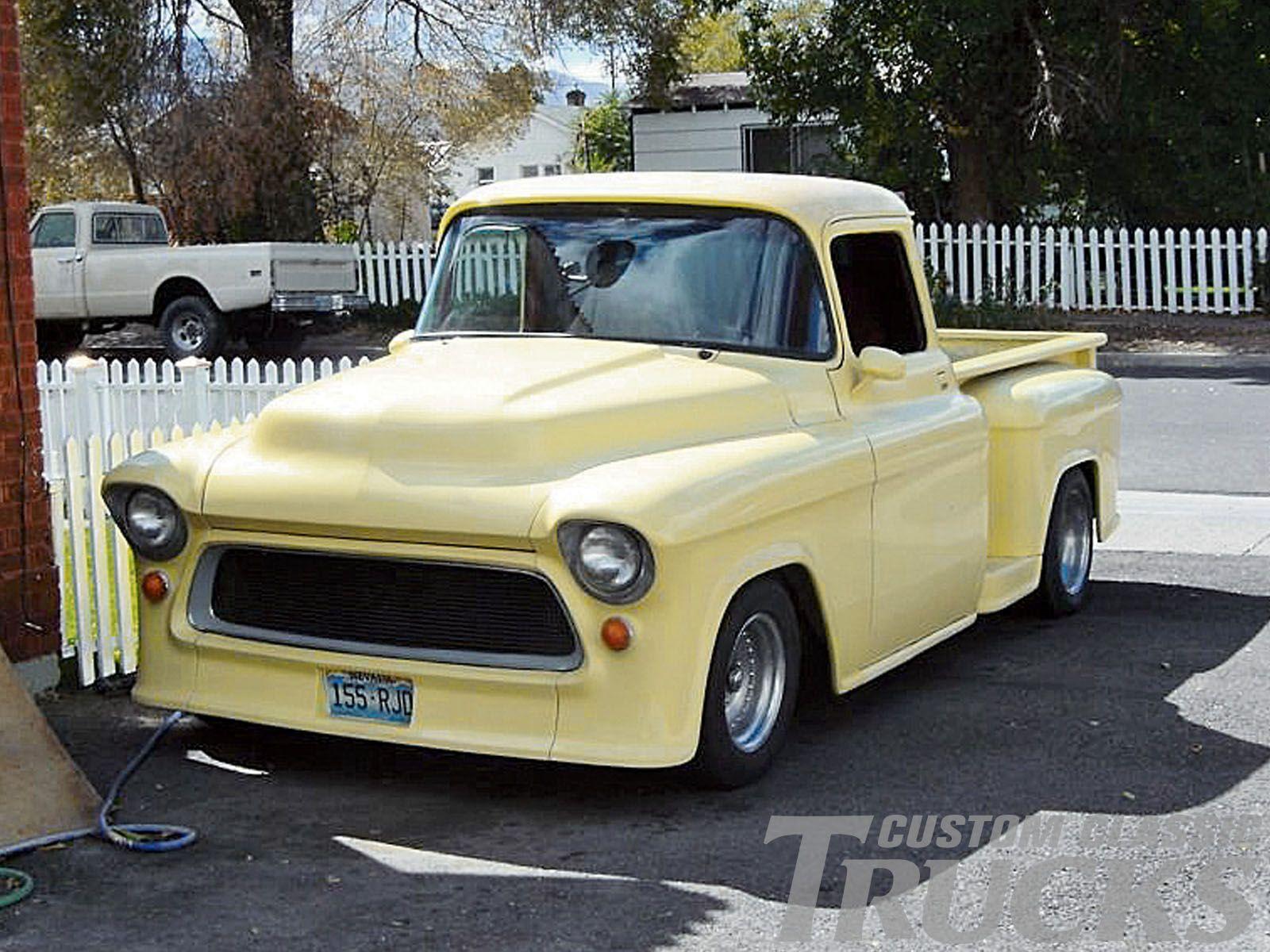 1957 chevy pickup truck m s