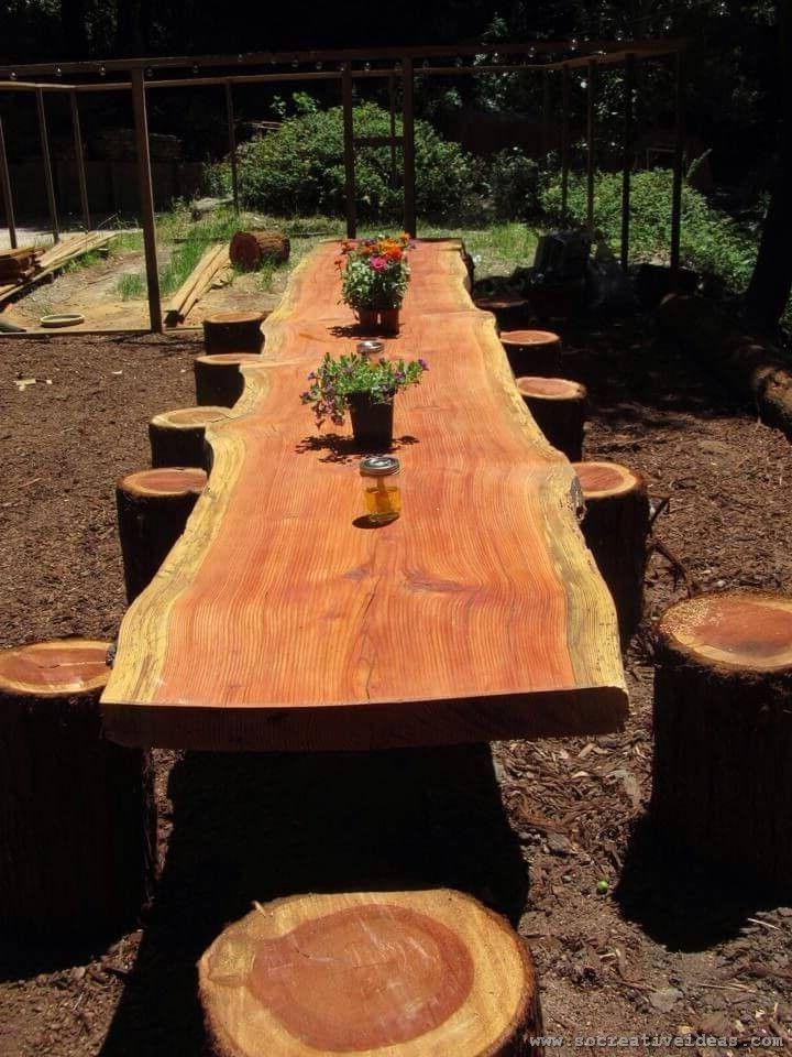 Massive Wood Table