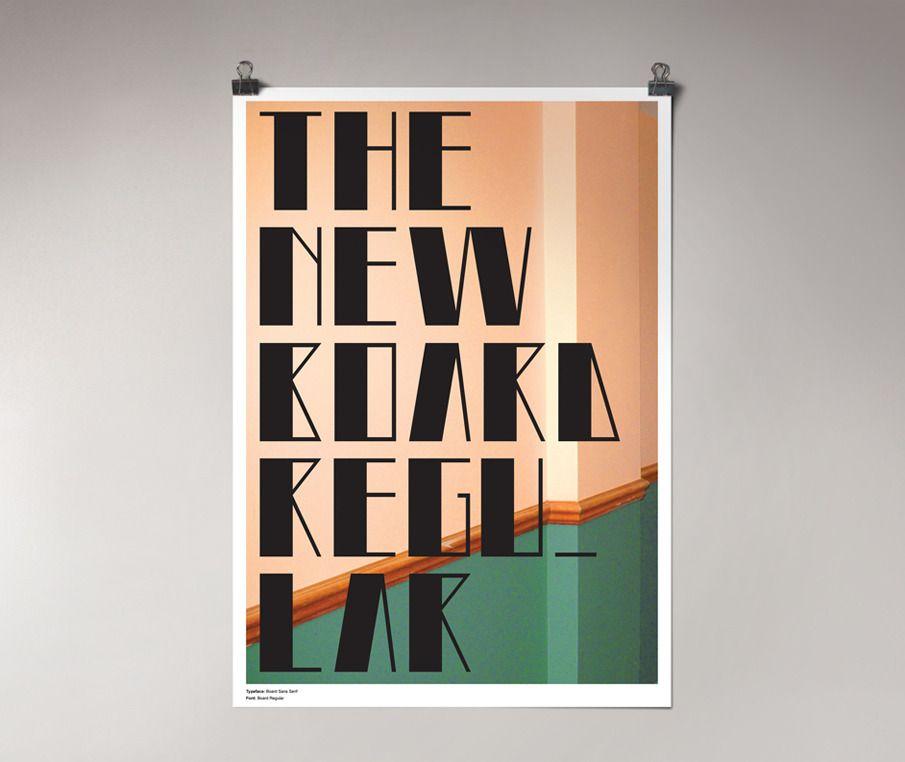 Board Typeface - Lorenzo Marri