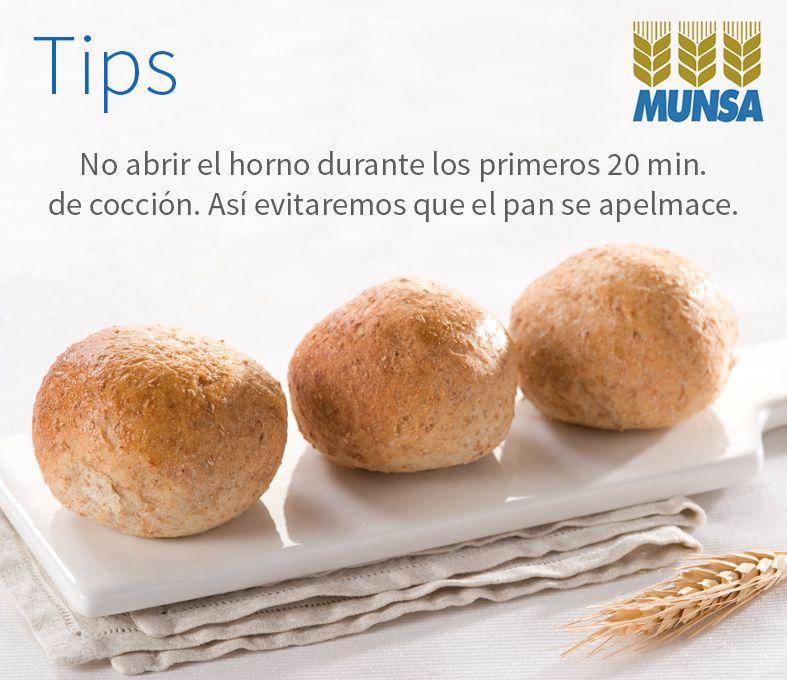 Hacer panes y masas es una de las partes de la cocina más divertidas y satisfactorias, aunque al principio puede costar conseguir buenos resultados. #MunsaMolinos #PanArtesanal #Tips http://www.munsa.com.mx