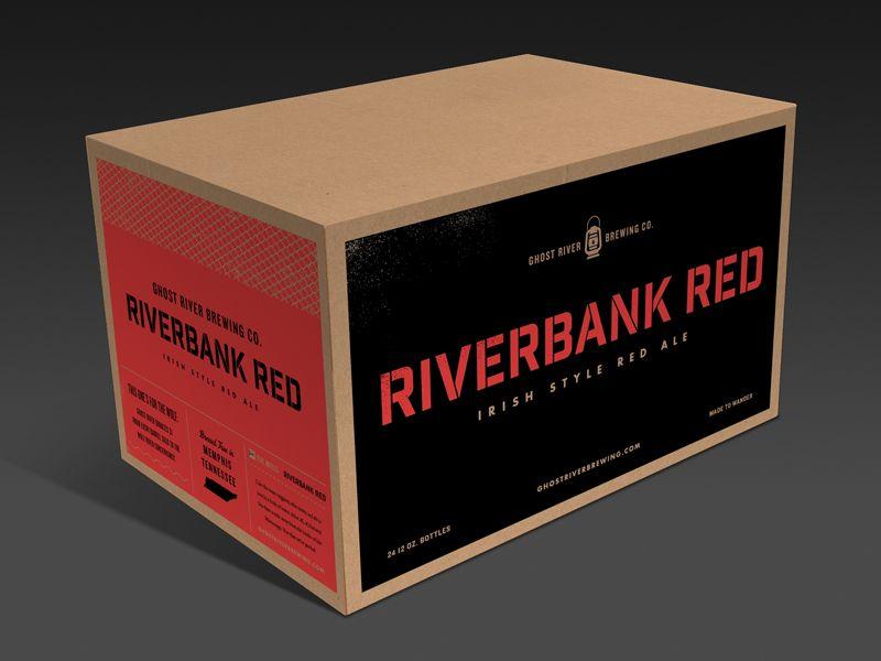 Download Ghost River Master Case Mockup 1 Craft Beer Packaging Packing Box Design Beer Packaging