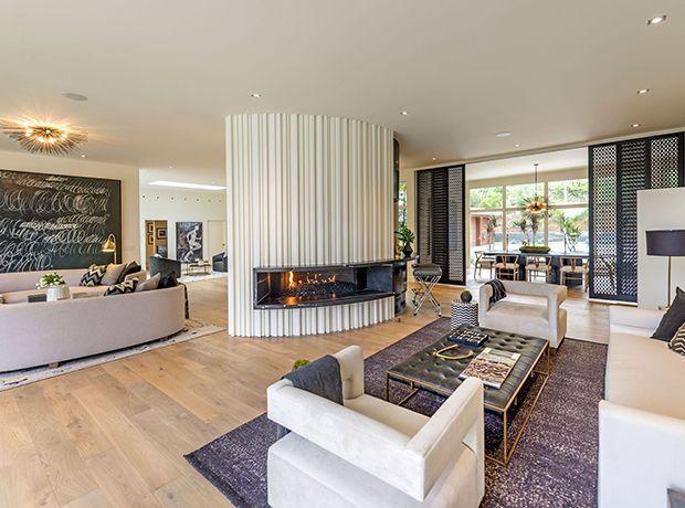 À l\'intérieur de la nouvelle demeure de la top-modèle Cindy Crawford ...