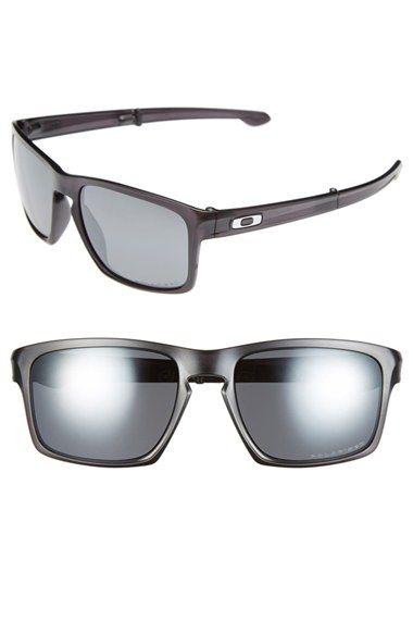 2a5404f65cafc Men s Oakley  Sliver F  57mm Polarized Sunglasses - Matte Black  Black  Iridium