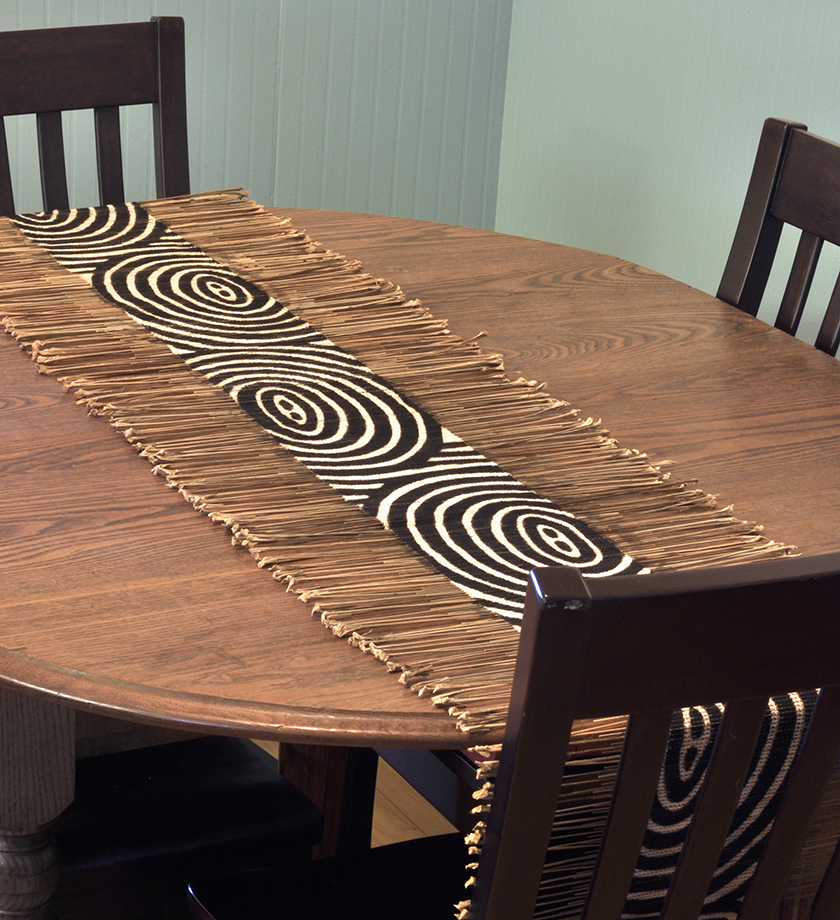Geometric African Twig Amp Mudcloth Table Runner Africans