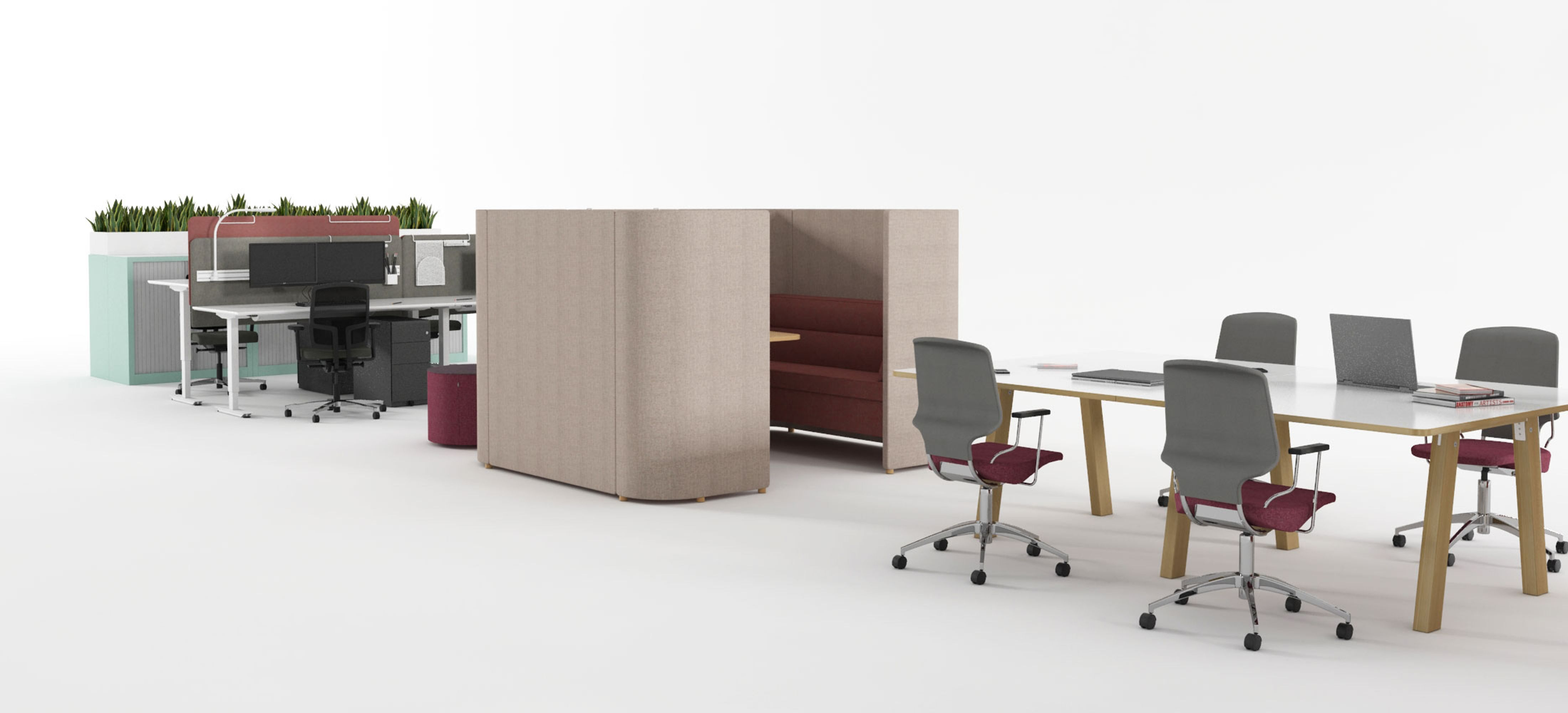 Furniture and office interior solutions from
