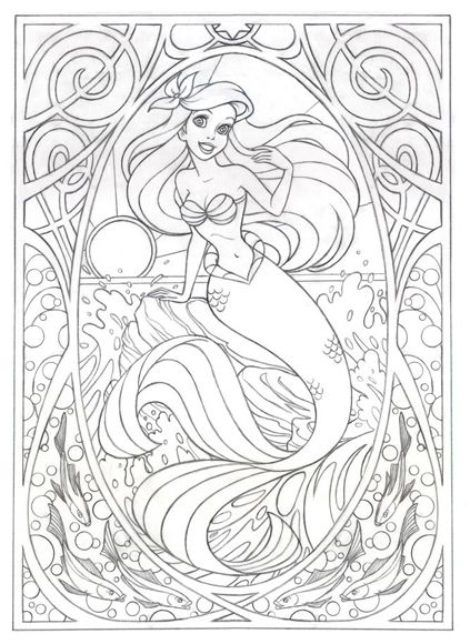 Disney Coloring Pages For Adults Dibujos Para Colorear Disney Mandalas Disney Libros Para Colorear