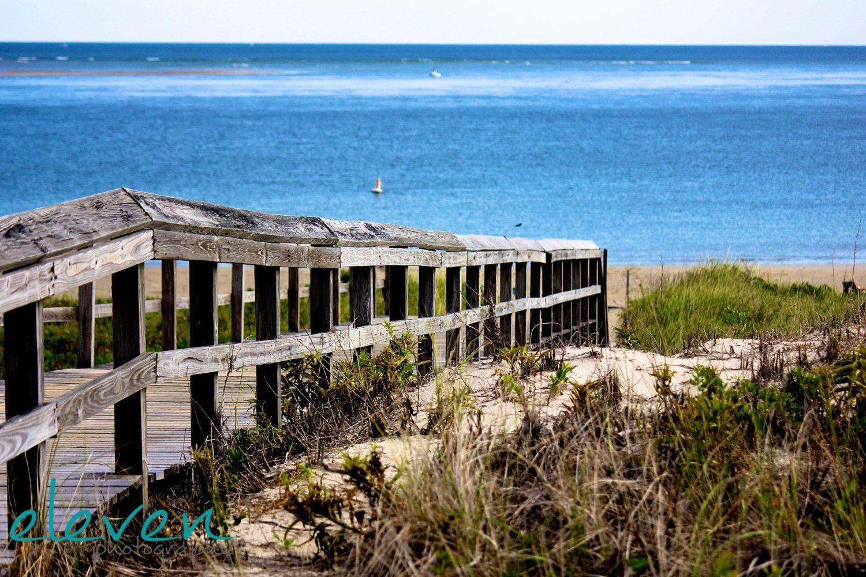 Crane Beach Boardwalk Ipswich Machusetts New England Ocean Sand Dunes