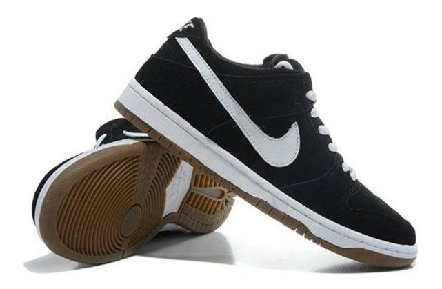 Nike Dunk Low Black White to Popular Cut Mens Stylish