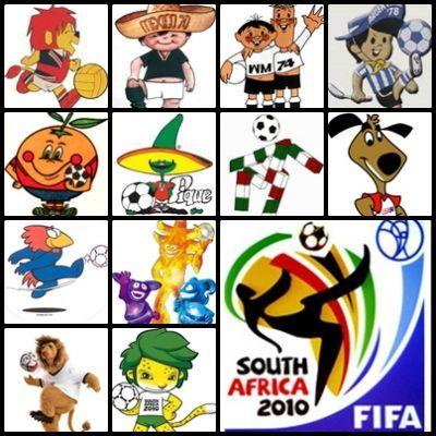 mascotas copa mundial de fútbol