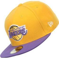 07a93b2c89ab0 New Era Nba Basic La Lakers gorra amarillo violeta Moda Amarilla