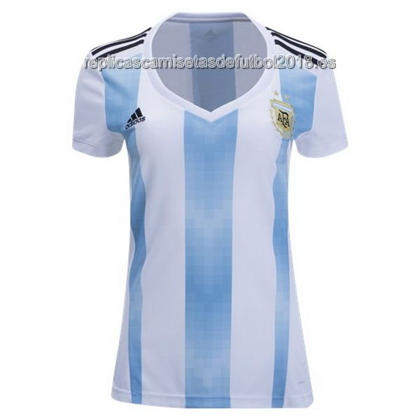 Primera Mujer Replicas Camiseta Argentina 2018  d44d73f49bf71