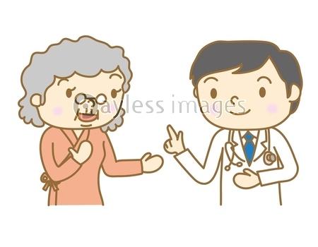 健康診断 問診の写真 イラスト素材 Xf3435234453 ペイレスイメージズ 医療イラスト イラスト 写真イラスト