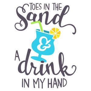 Silhouette Design Store: Toes In The Sand