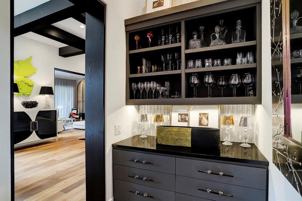 5521 Fairdale Lane, Houston, TX 77056 Photo Wine Room/Bar with