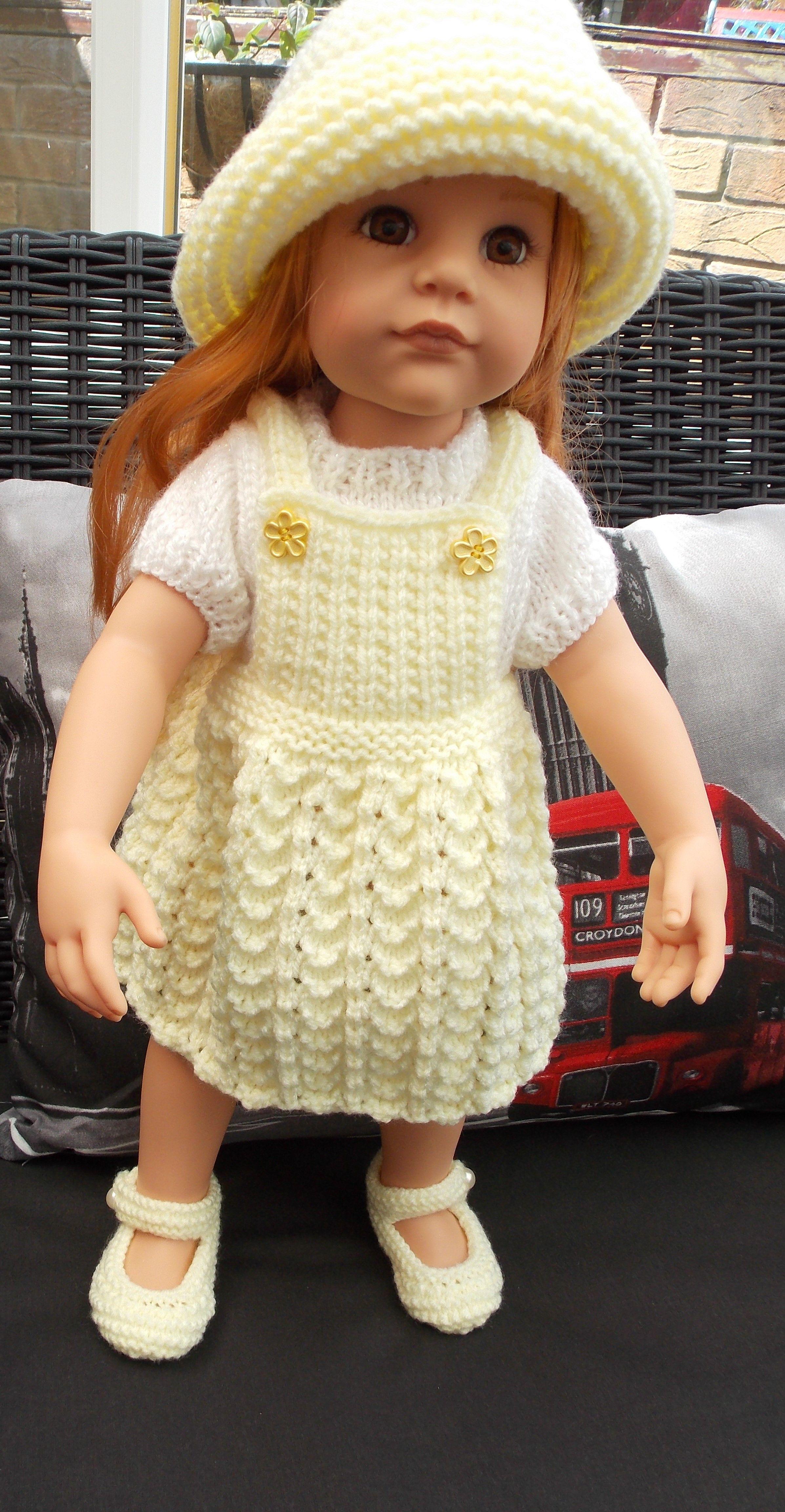 Pin de S D en مدل لباس بافتنی عروسک | Pinterest | Las muñecas ...